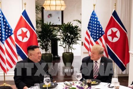 Thượng đỉnh Mỹ - Triều lần 2: Hai nhà lãnh đạo bắt đầu bữa trưa