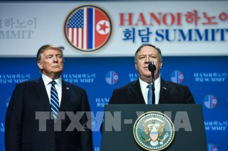 Thượng đỉnh Mỹ -Triều lần 2: Ngoại trưởng Mỹ vẫn lạc quan dù không đạt được thỏa thuận