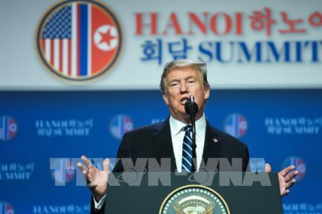 Tổng thống Donald Trump chưa tính đến cuộc gặp tiếp theo với Chủ tịch Triều Tiên