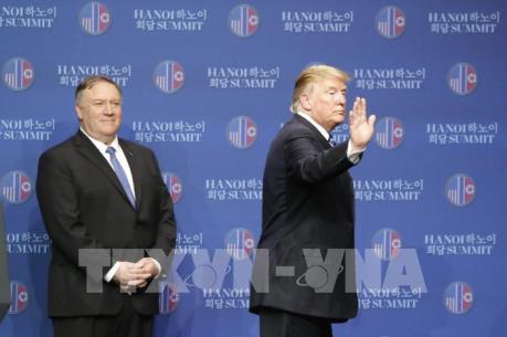 Hội nghị Thượng đỉnh Mỹ - Triều lần 2: Tổng thống Trump kết thúc họp báo