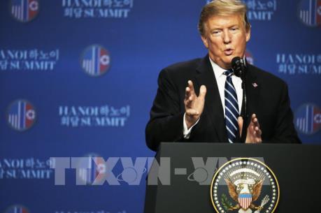 Thượng đỉnh Mỹ - Triều lần 2: Tổng thống Mỹ cho biết khúc mắc ở vấn đề trừng phạt