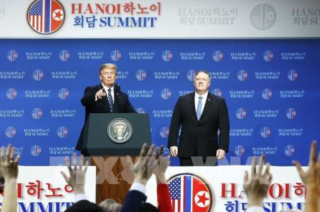 Tổng thống Mỹ: Triều Tiên cam kết không tiến hành thêm các vụ thử hạt nhân và tên lửa