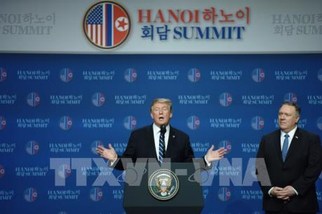 Thượng đỉnh Mỹ - Triều lần 2: Những nội dung chính trong họp báo của Tổng thống Trump