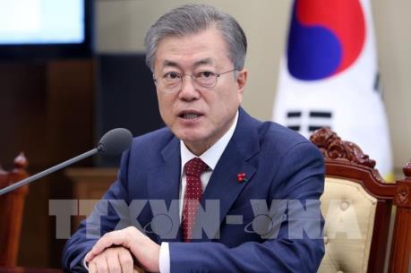 """Thượng đỉnh Mỹ - Triều lần 2: Tổng thống Hàn Quốc ca ngợi bước tiến """"nhiều ý nghĩa"""""""