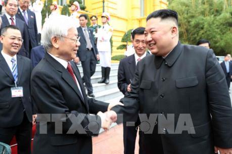 Chủ tịch Kim Jong-un: Triều Tiên mong muốn quan hệ hữu nghị truyền thống với Việt Nam