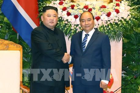 Chủ tịch Kim Jong-un: Phát triển quan hệ hữu nghị truyền thống Việt Nam - Triều Tiên