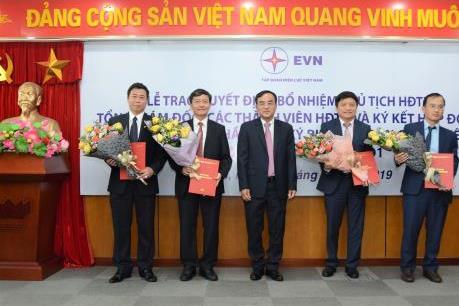 Bổ nhiệm Chủ tịch HĐTV và Tổng giám đốc tại EVNGENCO1