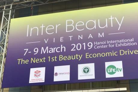 Khai mạc triển lãm Inter Beauty Vietnam
