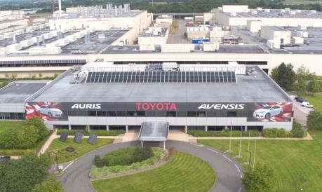 Toyota có thể rời khỏi thị trường Anh nếu Brexit không thỏa thuận