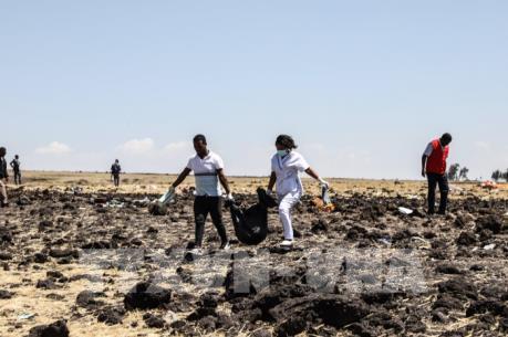Đã xác định được danh tính các hành khách trong vụ tai nạn máy bay Ethiopia