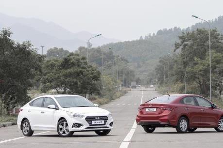 Hyundai Accent trở lại ngôi đầu bảng về doanh số bán hàng