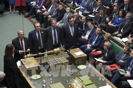 Quốc hội Anh bác phương án Brexit không thỏa thuận