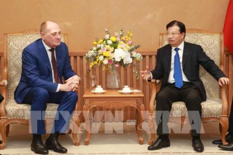 Phó Thủ tướng Trịnh Đình Dũng: Khuyến khích doanh nghiệp Nga mở rộng đầu tư tại Việt Nam