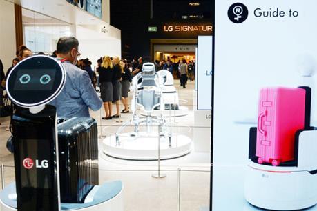 LG Electronics Inc. cam kết mở rộng kinh doanh robot