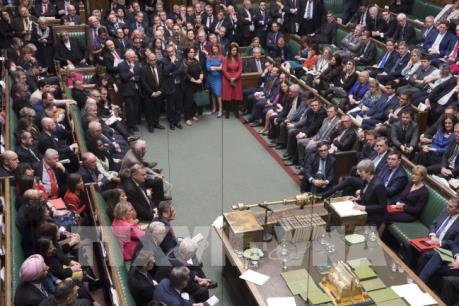 Hạ viện Anh bỏ phiếu ủng hộ trì hoãn Brexit