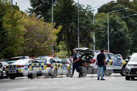 Xả súng tại New Zealand: Sơ tán khu vực xung quanh địa điểm tình nghi