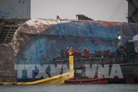 Di ảnh nạn nhân vụ chìm phà Sewol được chuyển khỏi trung tâm Seoul
