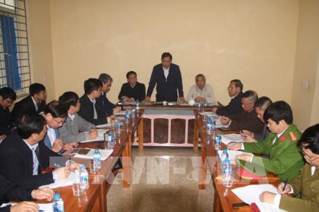 Bộ trưởng Nguyễn Xuân Cường kiểm tra tình hình phòng dịch tả lợn tại Thanh Hóa