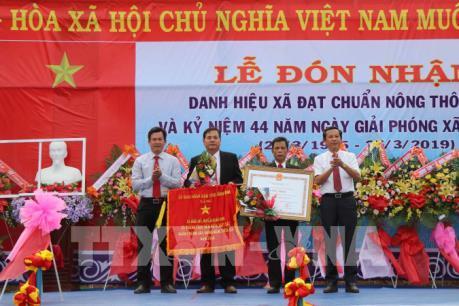 Bình Định: Toàn bộ 15 xã huyện Hoài Nhơn đạt chuẩn nông thôn mới