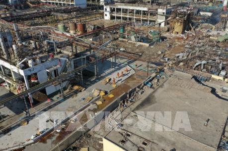 Số thương vong tăng mạnh trong vụ nổ nhà máy hóa chất ở Trung Quốc