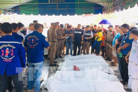 Hỗ trợ công dân Việt Nam gặp nạn trong vụ tai nạn giao thông tại Thái Lan