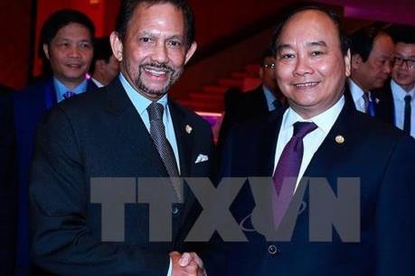 Nhân Quốc vương Brunei thăm cấp Nhà nước tới Việt Nam
