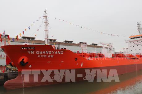 Việt Nam bàn giao tàu trọng tải 6.500 tấn cho Hàn Quốc