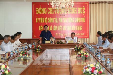 Phó Thủ tướng: Hậu Giang phải là tỉnh khá ở ĐBSCL trong 5 năm tới