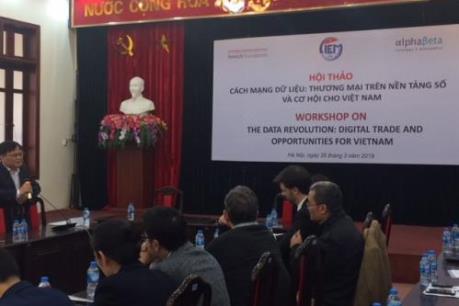Thương mại trên nền tảng số và cơ hội cho Việt Nam