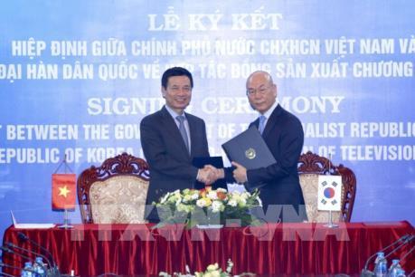Việt Nam - Hàn Quốc hợp tác sản xuất chương trình truyền hình