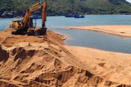 Đề xuất tận dụng cát nhiễm mặn để san lấp mặt bằng dự án