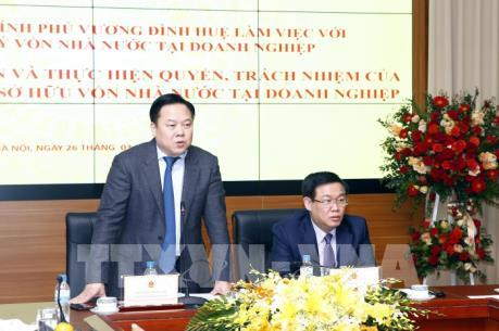 Phó Thủ tướng làm việc với Ủy ban Quản lý vốn Nhà nước tại doanh nghiệp