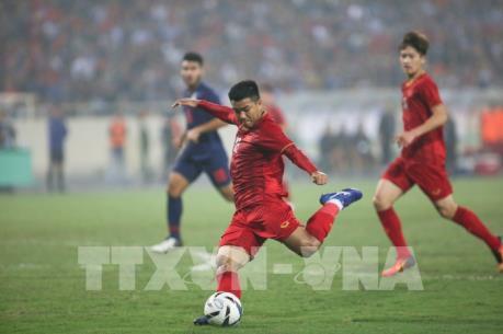 Tuyển Bóng đá Việt Nam thăng hạng xếp thứ 98 thế giới
