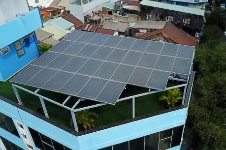 Tp. Hồ Chí Minh khuyến khích hộ dân phát triển điện mặt trời mái nhà