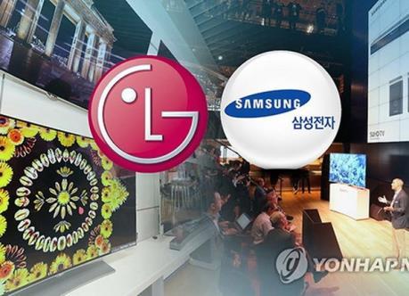 Samsung và LG tiếp tục cạnh tranh quyết liệt trên thị trường TV cao cấp
