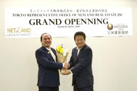 Netland chính thức khai trương văn phòng tại Nhật Bản
