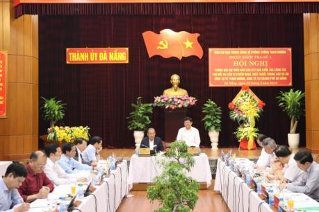Dự thảo báo cáo kết quả kiểm tra thu hồi tài sản vụ án tham nhũng, kinh tế tại Đà Nẵng