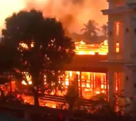 Cháy tại khách sạn 5 sao trên núi Alps làm gần 200 người phải sơ tán