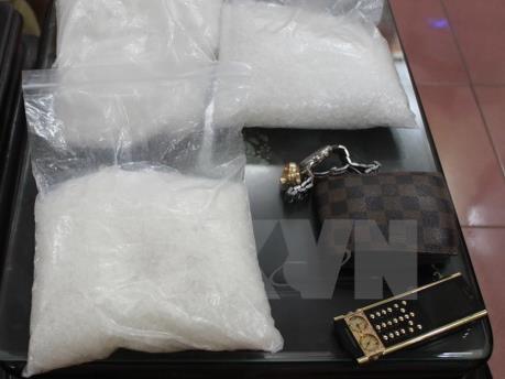 Myanmar truy quét tội phạm, thu giữ hơn 1.700 kg ma túy đá