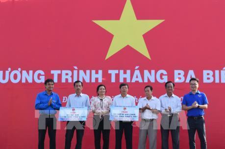"""Đoàn thanh niên TTXVN tổ chức chương trình """"Tháng 3 hướng về biển, đảo"""""""