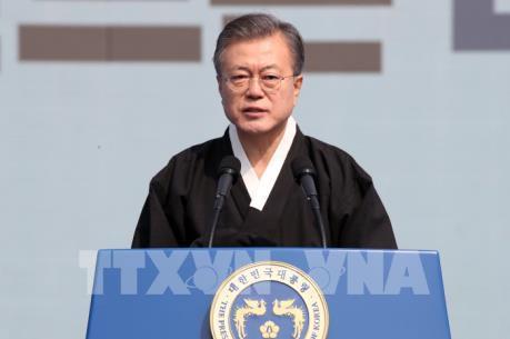 Mỹ gửi gắm thông điệp tới Triều Tiên qua Tổng thống Hàn Quốc