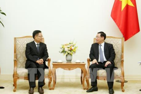 Phó Thủ tướng Vương Đình Huệ tiếp Phó Tỉnh trưởng thường trực tỉnh Vân Nam