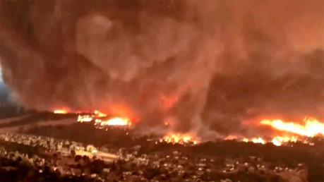 26 lính cứu hỏa thiệt mạng khi không chế cháy rừng
