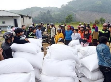 Hỗ trợ hơn 400 tấn gạo cho Yên Bái trong thời gian giáp hạt
