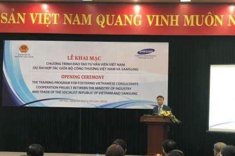 Samsung đào tạo chuyên gia tư vấn công nghiệp hỗ trợ Việt Nam