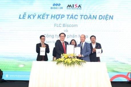 FLC Biscom bắt tay MISA mang giải pháp công nghệ cho cộng đồng golf
