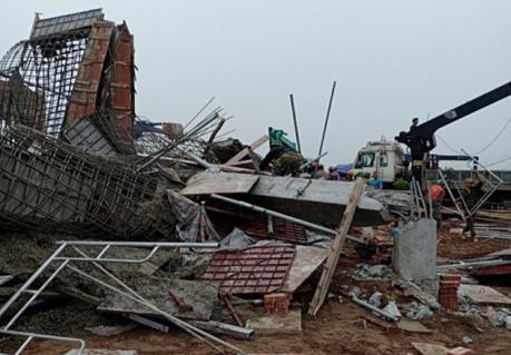 Vụ sập giàn giáo ở Nam Định: Tin mới nhất về các nạn nhân