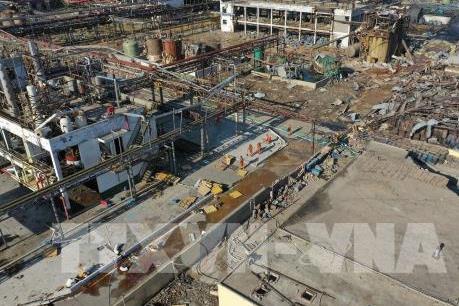 Trung Quốc bắt 3 nghi can vụ nổ nhà máy hóa chất ở Giang Tô