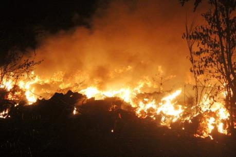 Sơ tán 4.000 người do hỏa hoạn bùng phát ở Hàn Quốc
