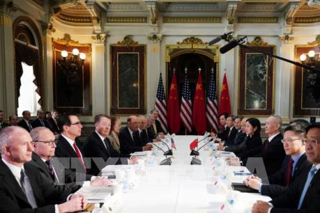 Đàm phán thương mại Mỹ-Trung bước vào giai đoạn quyết định